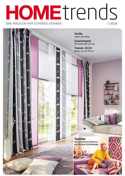 Cover des aktuellen Home Trends Magazin